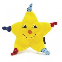 Sterntaler Cuddle cloth Kleiner Stern Mond & stars Dimensions: 21cm <b>Ready for delivery