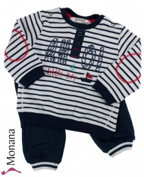 Kanz two-pieces baby set Ahoi