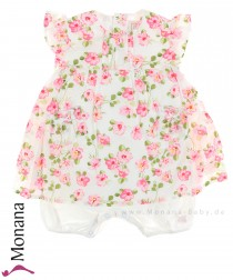 Emile et pink dress romper with Blumendruck