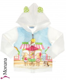 Mayoral Sweat-Jacke Ice Cream<br>Größe: 86, 92, 98