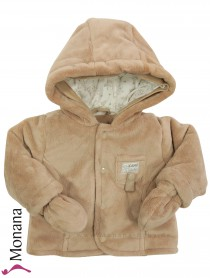 Kanz baby jacket light brown