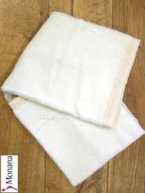 Leipold baby blanket cream dimensions: 29,5 x 39,4 inch (ca. 75 x 100 cm) <b>Ready for delivery