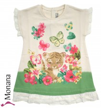 Mayoral summer dress Sweet tiger