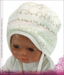 Maximo Nicki-Baby-M�tze wollwei�<br>Gr��e: 41, 43