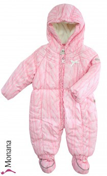 Kanz snow suit Roses & Rabbits rose-pink