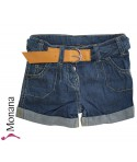 Kanz Jeans-Shorts Indigo goes Red<br>Größe: 98, 110, 116, 134, 140, 146, 152