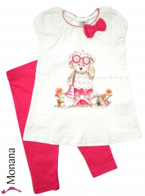 Mayoral Kindermode-Set T-Shirt & Leggings Teddy<br>Größe: 110