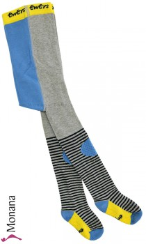 Ewers slipping and crawling tights blue