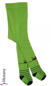 Maximo tights green with locomotive