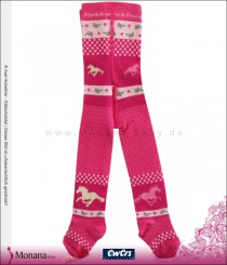 Ewers tights pink horse friends
