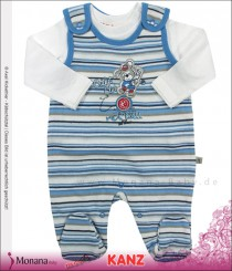 Kanz Baby-Strampler & Shirt Little Players<br>Größe: 50, 56, 62, 68