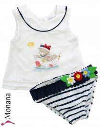 Mayoral swimming set with swimming trunks & shirt