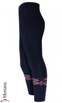 Maximo thermo leggings navy