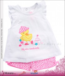 Mayoral Baby-Set T-Shirt & Shorts Badeente<br>Größe: 62, 74
