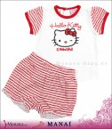 Manai Baby-Set T-Shirt & Shorts Hello Kitty<br>Größe: 68, 74, 80