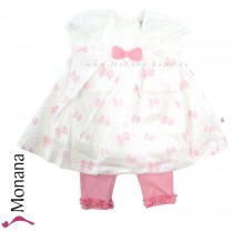Kanz Baby-Set Kleid & Leggings My little dresses<br>Größe: 92