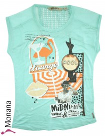 Garcia T-Shirt Mermaid mint<br>Größe: 140/146, 152/158, 164/170, 176