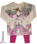 Mayoral Kindermode-Set Sweatshirt & Leggings Rollerblades<br>Größe: 104, 110