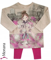 Mayoral Kindermode-Set Sweatshirt & Leggings Rollerblades<br>Größe: 110
