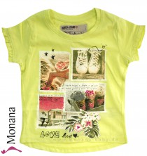 Garcia t-shirt Bright Lime