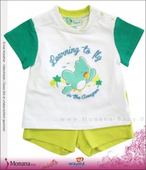 Mayoral baby set t-shirt & Bermudas Learning to fly