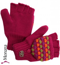 Dolli von Döll Fingerhandschuhe with Fingerkappe pink