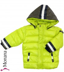 Mayoral winter jacket yellow-green