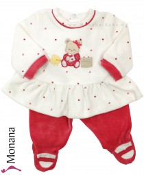 Mayoral 2-teiliges Nicki-Baby-Set Teddy<br>Größe: 56