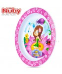 Nuby Esslern-Teller Flower Child<br><b>Polypropylen</b>