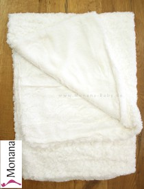 Mayoral cuddly baby blanket cream Dimensions: ca. 100 x 80 cm <b>Ready for delivery