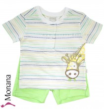Kanz baby set t-shirt & bermuda Jungle Child