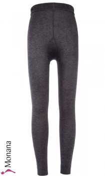 Ewers Thermo-Leggings anthrazit meliert<br>Größe: 98-104