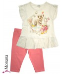 Mayoral Kindermode-Set Long-Shirt & Leggings Sweet Tiger<br>Größe: 116