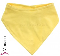Maximo baby neckerchief yellow