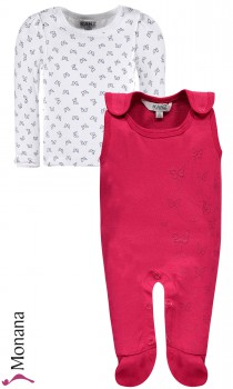 Kanz baby romper & shirt Happy Butterfly   pic 1