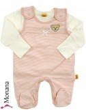 Steiff Collection Baby-Strampler & Baby-Shirt  Little Bear Girls rosa<br>Größe: 50, 68, 74