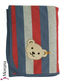 Steiff Collection Babydecke Be my No 1<br>Maße: 67 x 96 cm