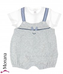 Mayoral baby romper dark blue