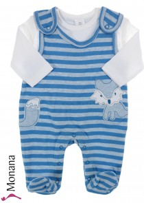 Kanz Baby-Strampler & Shirt Little Fox<br>Größe: 62