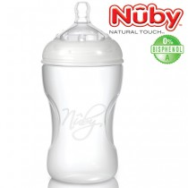 Nuby Natural Touch Silikonflasche Medium Flow*** 300 ml