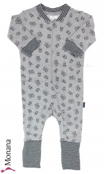 Schiesser sleeping suit owl