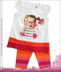 Mayoral child fashion set t-shirt & leggings Farbenspiel