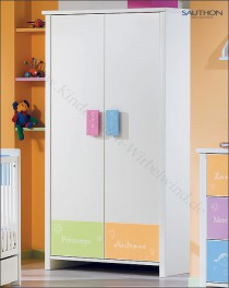 kleiderschrank f r kinderzimmer babyzimmer. Black Bedroom Furniture Sets. Home Design Ideas