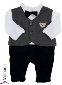 Steiff Collection Baby-Strampler Special Day<br>Größe: 86