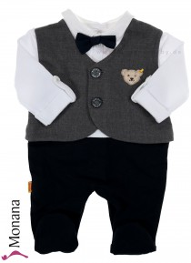 Steiff Collection Baby-Strampler Special Day<br>Größe: 56
