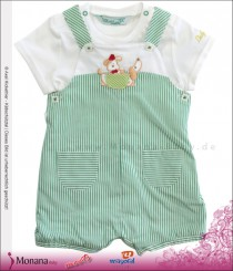 Mayoral baby set latz bermuda & t-shirt green