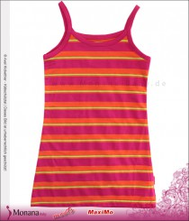 Maximo pinafore dress orange-pink