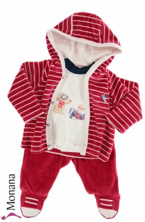 Mayoral three-pieces baby set Flying Dog