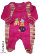 Jacky Nicki-Strampler & Baby-Shirt Forest Friends<br>Größe: 68