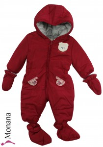 Mayoral snow suit red